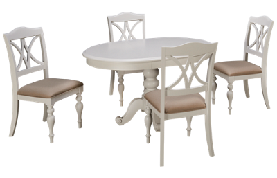 Liberty Furniture Summer House 5 Piece Dining Set with Leaf