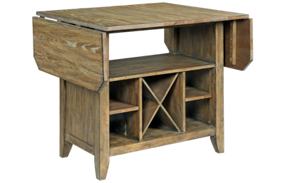 Kincaid The Nook Kitchen Island with Drop Leaf