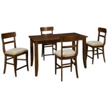 Kincaid The Nook 5 Piece Counter Height Dining Set