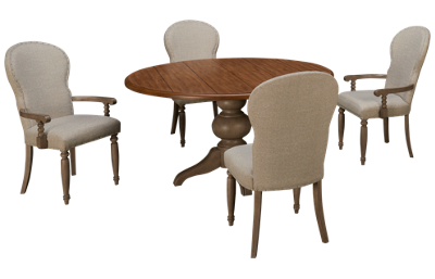 Klaussner Home Furnishings Nashville 5 Piece Dining Set
