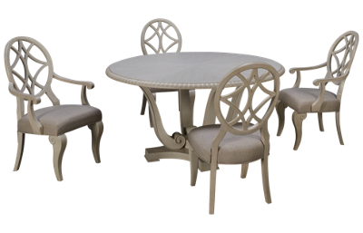 Klaussner Home Furnishings Jasper County 5 Piece Dining Set