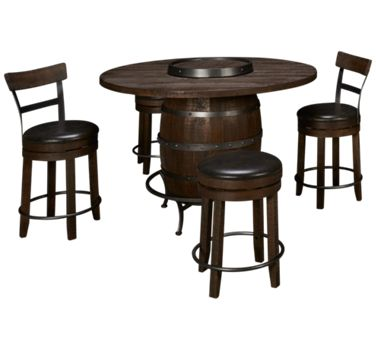 Round Pub Table Dining Set Product Image Unavailable