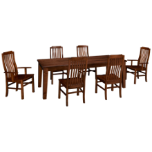 Vaughan-Bassett Simply Dining 7 Piece Dining Set
