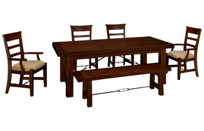Sunny Designs Vineyard 6 Piece Dining Set