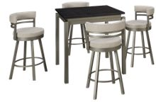 Amisco  Cameron 5 Piece Counter Dining Set