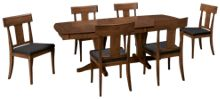 Canadel Pecan 7 Piece Dining Set