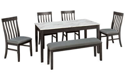 Ashley Luvino 6 Piece Dining Set