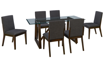 A America Palm Canyon 7 Piece Rectangular Dining