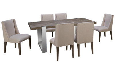 Universal Modern 7 Piece Dining Set