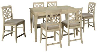 Klaussner Home Furnishings Trisha Yearwood Home Klaussner Home Furnishings Trisha  Yearwood Home 7 Piece Dining Set   Jordanu0027s Furniture