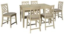 Klaussner Home Furnishings Trisha Yearwood Home 7 Piece Dining Set