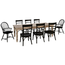Magnolia Home Prairie 9 Piece Dining Set