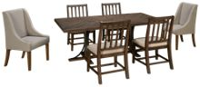Magnolia Home 7 Piece Iron Trestle Dining Piece Set