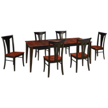 Canadel Peppercorn 7 Piece Dining Set