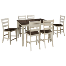 Intercon Kona 7 Piece Counter Height Dining Set
