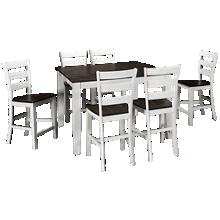 Intercon Kona 7 Piece Counter Height Dining Set