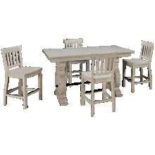 Magnussen Bronwyn 5 Piece Counter Height Dining Set