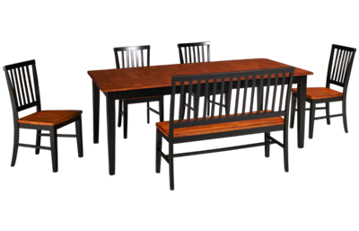 Intercon Arlington 6 Piece Dining Set