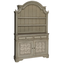 Liberty Furniture Magnolia Manor China Base and Hutch