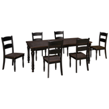 Jofran Madison County 7 Piece Dining Set