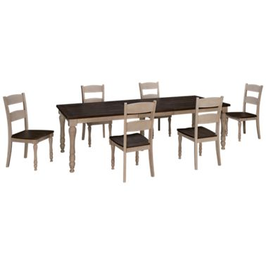 Jofran Madison County Jofran Madison County 7 Piece Dining Set