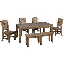 Jofran Prescott Park 6 Piece Dining Set
