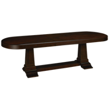 Klaussner Home Furnishings Charleston Lane Dining Table