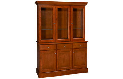 Saloom  Redwood China Base and Hutch