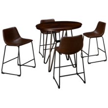 Ashley Centiar 5 Piece Counter Height Dining Set