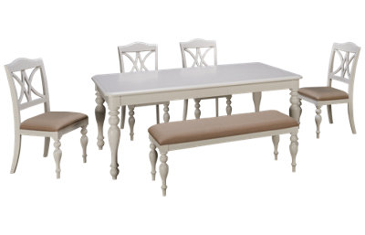 Liberty Furniture Summer House 6 Piece Dining Set