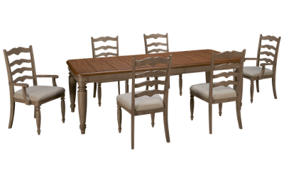 Klaussner Home Furnishings Nashville 7 Piece Dining Set