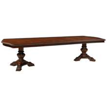 """Universal  Villa Cortina Table with (3) 18"""" Leaves"""