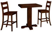 Sunny Designs Vineyard 3 Piece Pub Dining Set