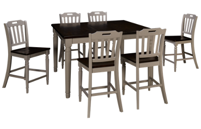 Jofran Orchard Park 7 Piece Dining Set with