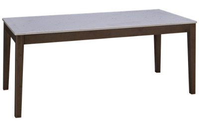 Vaughan-Bassett Simply Dining Quartz Table