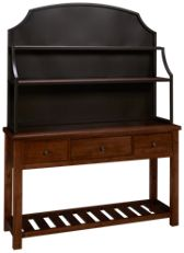 Vaughan-Bassett Simply Dining Server with Hutch