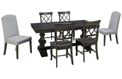 Whitewood Industries Banks 7 Piece Dining Set