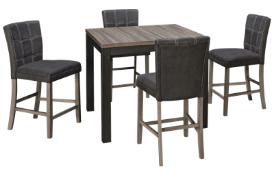Ashley Dontally 5 Piece Counter Height Dining Set