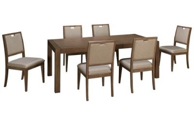 Klaussner Home Furnishings Melbourne 7 Piece Dining Set