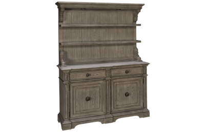 Klaussner Home Furnishings Windmere China Base and Hutch