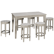 Legacy Classic Belhaven 7 Piece Counter Height Dining Set