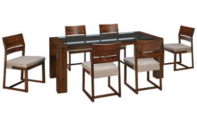 Canadel Loft 7 Piece Dining Set