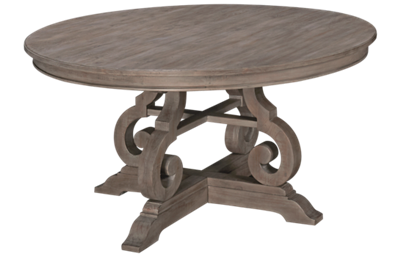 "Magnussen Tinley Park 60"" Round Dining Table"
