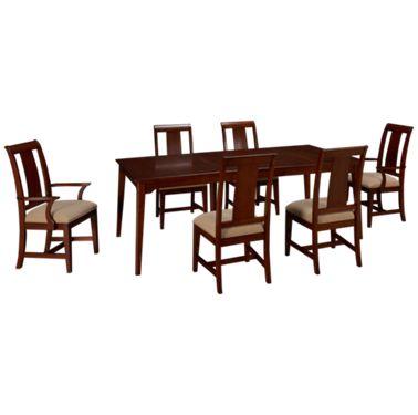 Kincaid Cherry Park 7 Piece Dining Set