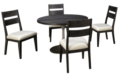 Klaussner Home Furnishings City Limits 5 Piece Dining Set