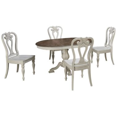 Magnificent Liberty Furniture Magnolia Manor 5 Piece Dining Set Caraccident5 Cool Chair Designs And Ideas Caraccident5Info