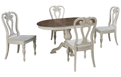 Liberty Furniture Magnolia Manor 5 Piece Dining Set with Leaf