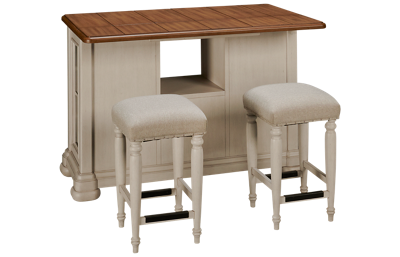 Klaussner Home Furnishings Nashville 3 Piece Dining Set