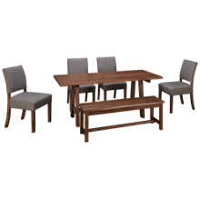Vaughan-Bassett Simply Dining 6 Piece Dining Set
