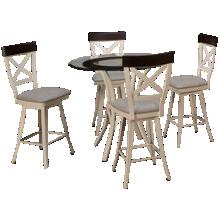 Amisco Kai 5 Piece Dining Set